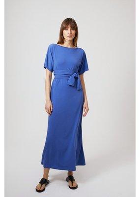 Travel Dress LUXE JERSEY LONG DRESS CORNFLOWER