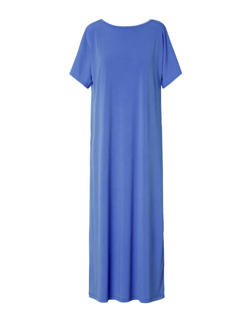 Travel Dress LUXE JERSEY LONG DRESS CORNFLOWER