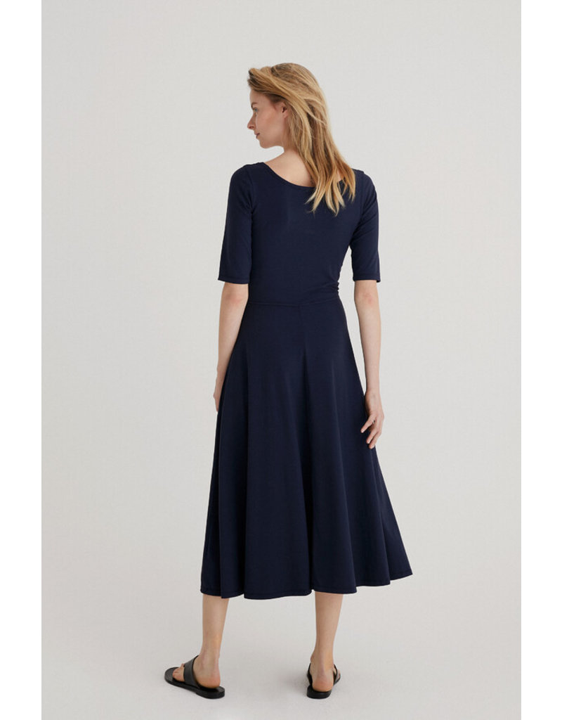 Zenggi Stretch Jersey Gina Dress Dark Blue