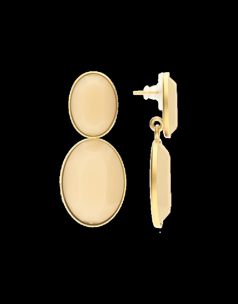 Atelier Louiza Earrings Bourla Ivory