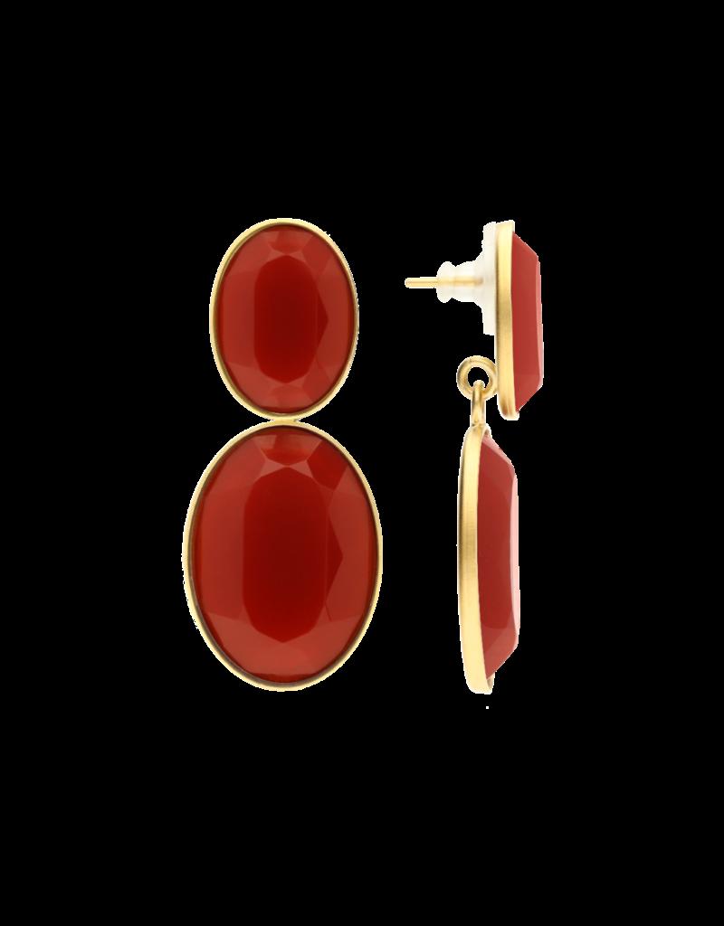 Atelier Louiza Earrings Bourla Coral