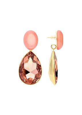 Atelier Louiza Earrings Marie Blush