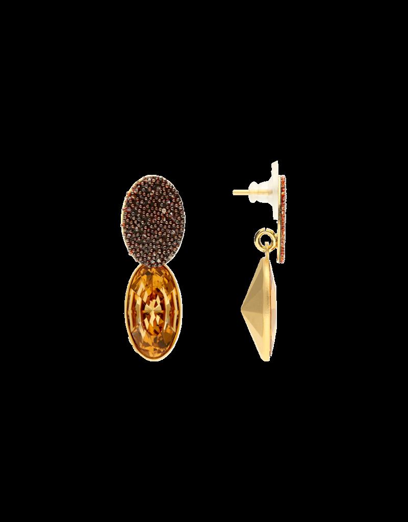 Atelier Louiza Earrings Madeline Topaz