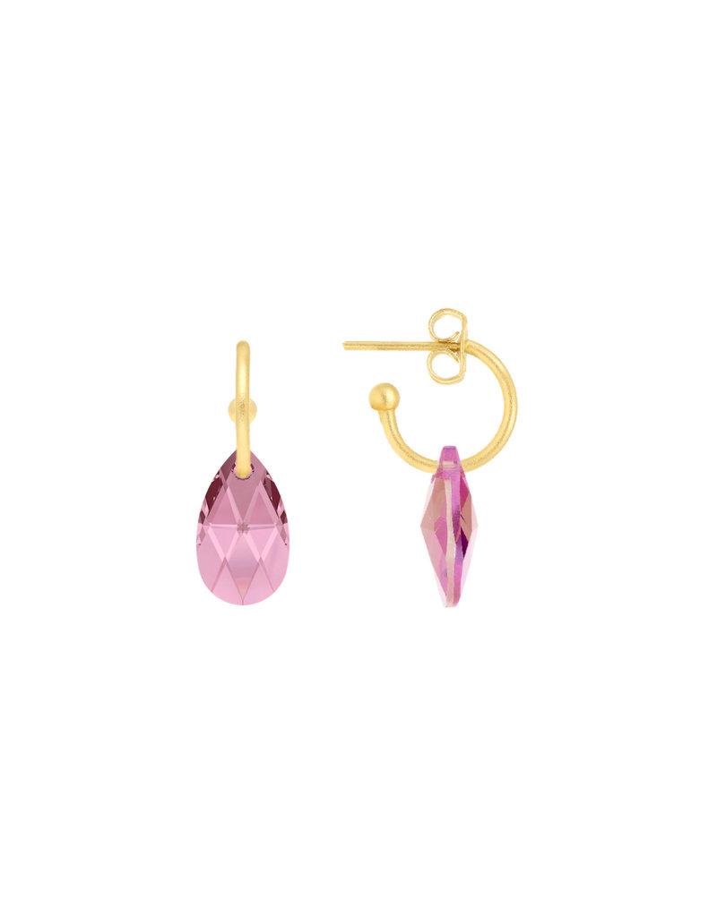 Atelier Louiza Earrings Natasja Light Rose