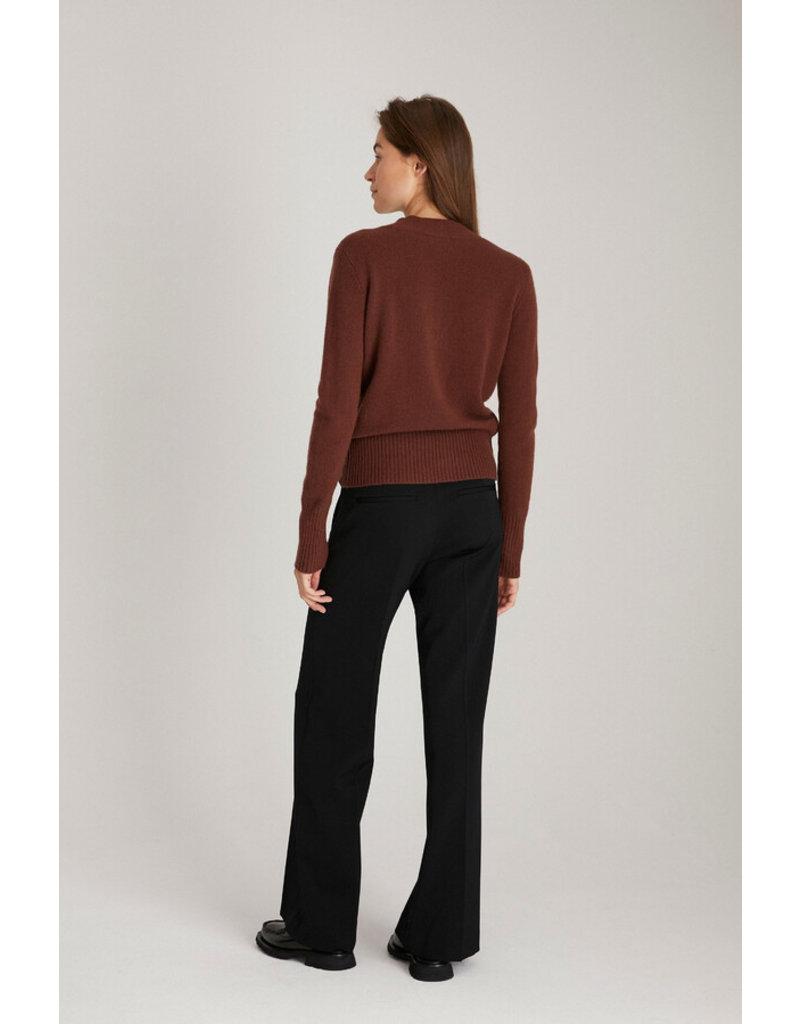Zenggi Sade Pants Wool Black