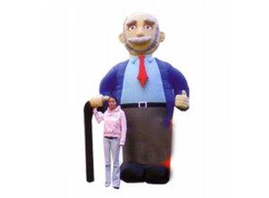 Abraham  3.5 meter hoog