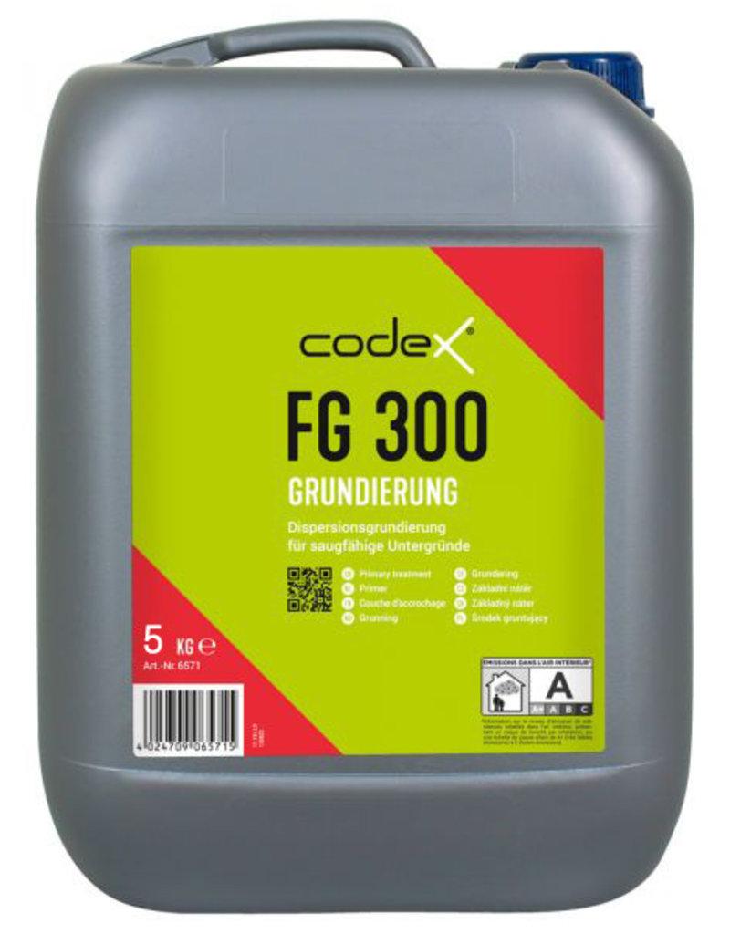 Codex Primer CodeX FG 300 5 L of 10 L - Voor cementgebonden zuigende ondergronden