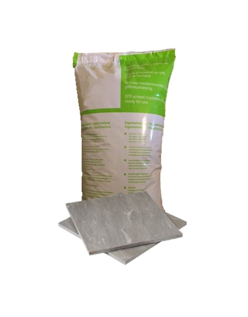 Tileable insulation screed - per bag (= 70 L) - ready for use