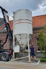 Stabilized sand in silo (per ton)
