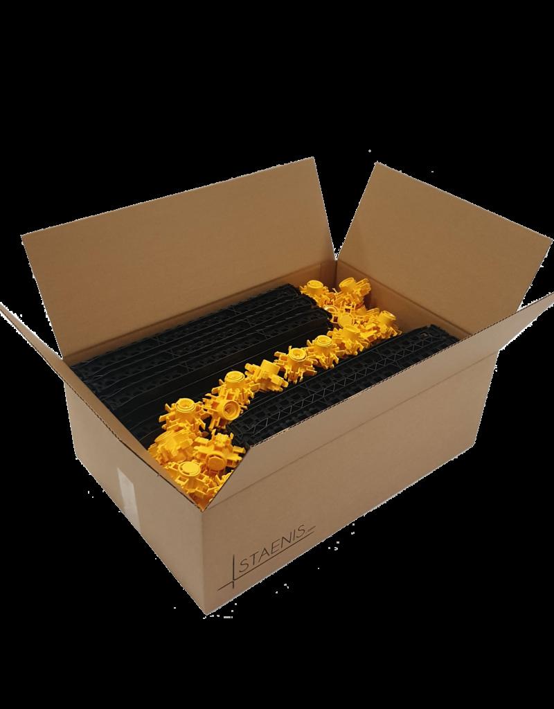 Staenisrooster ± 10 m² - per doos