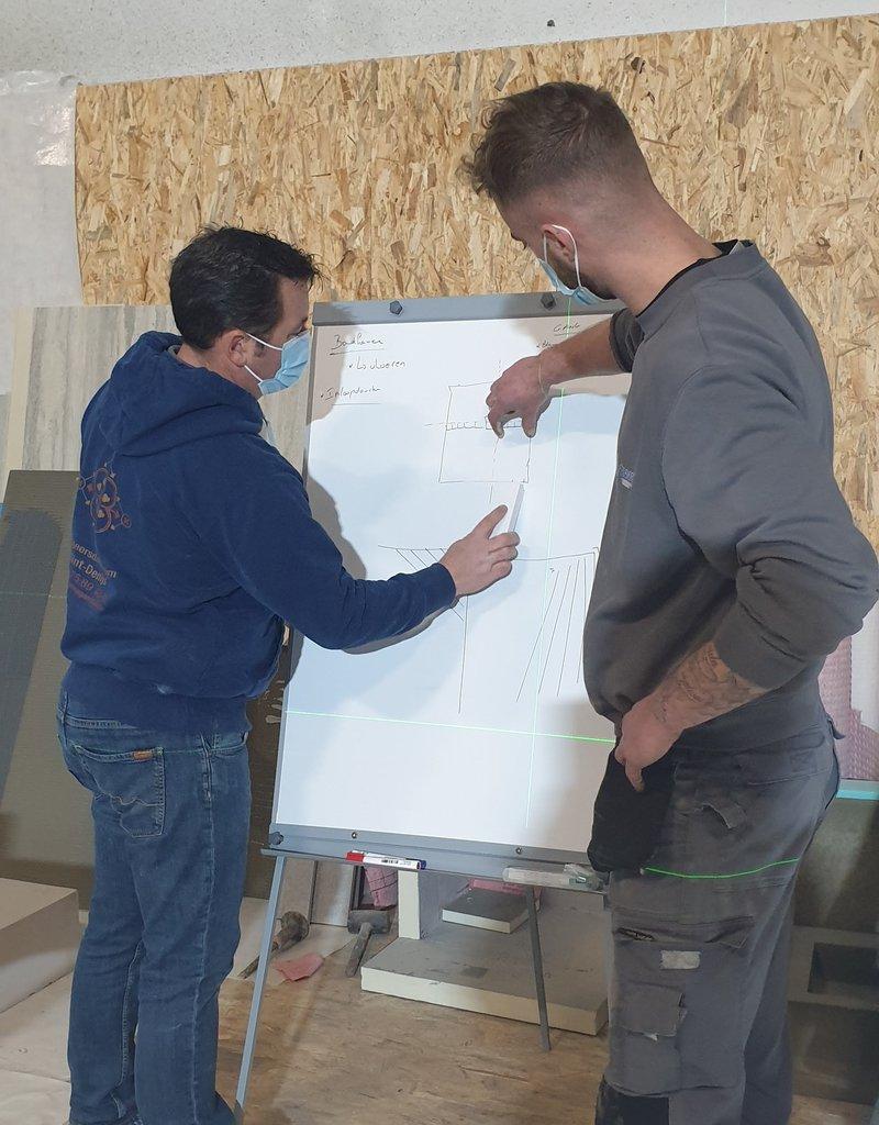 Basis opleiding tegelzetten (Nederlands)