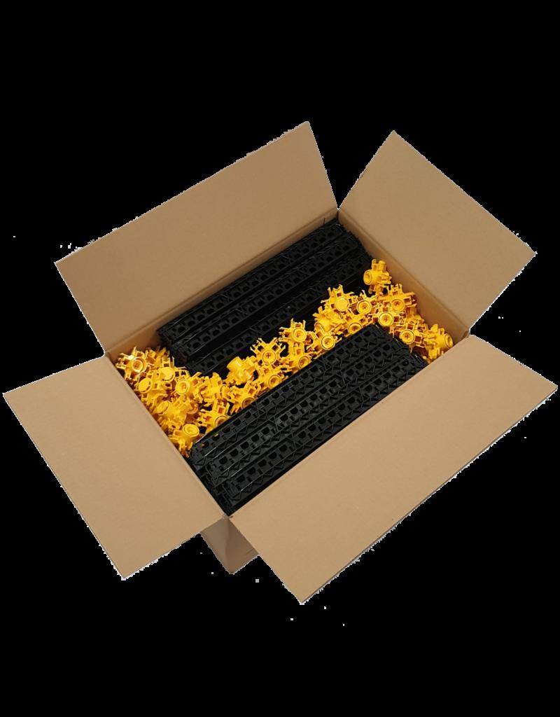 (20 boîtes x 20 m²)