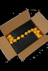 (60 dozen x 5 m²)
