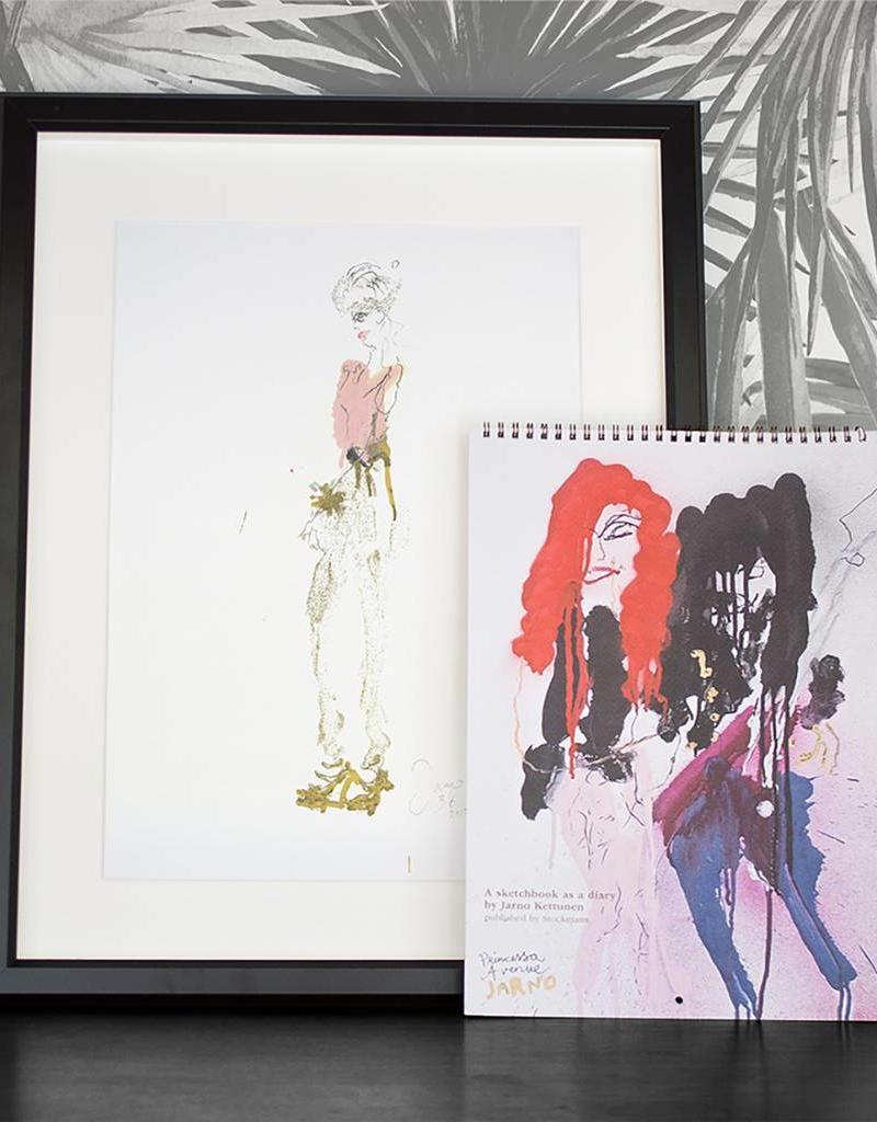 Jarno Kettunen - A sketchbook as a diary