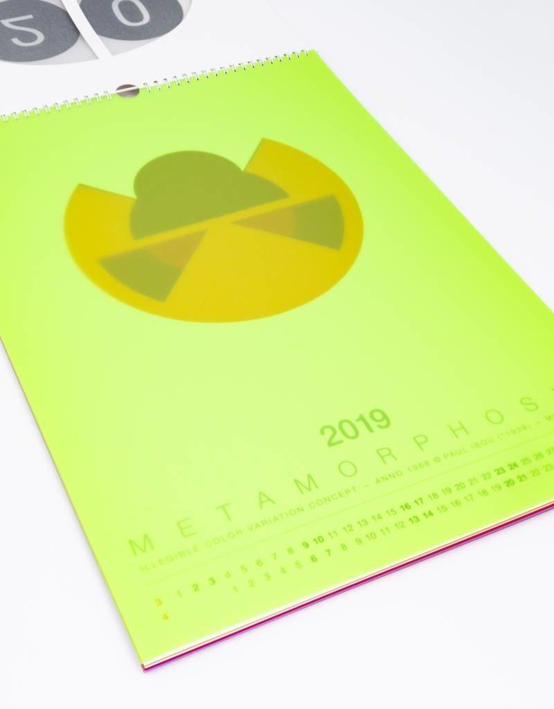 Paul Ibou - Metamorphosis - Art object (and calendar 2019 / April 2020)