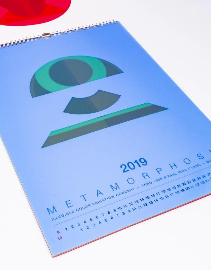 Paul Ibou - Metamorphosis - Kunstobject (en kalender 2019 / april 2020)