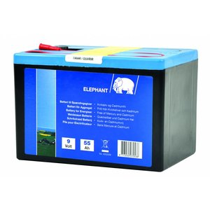Elephant Alkaline Battery 9V/55Ah