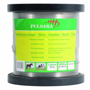 Elephant/Pulsara Aluminiumtråd ø 1,6 mm - 2,5 kg - ca. 400 m