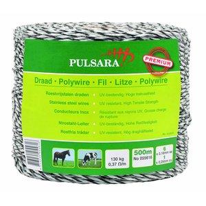 Elephant/Pulsara Poly wire Premium white, 500m