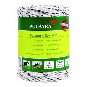 Elephant/Pulsara Flexi Rope 4mm white, 500m