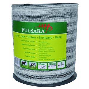Elephant/Pulsara Bånd 40 mm hvid, 200m