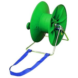 Elephant/Pulsara Reel with belt for carrying 1:1  2000m Green