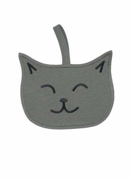 Spieltuch mit Katzenmotiv aus Bio-Baumwolle