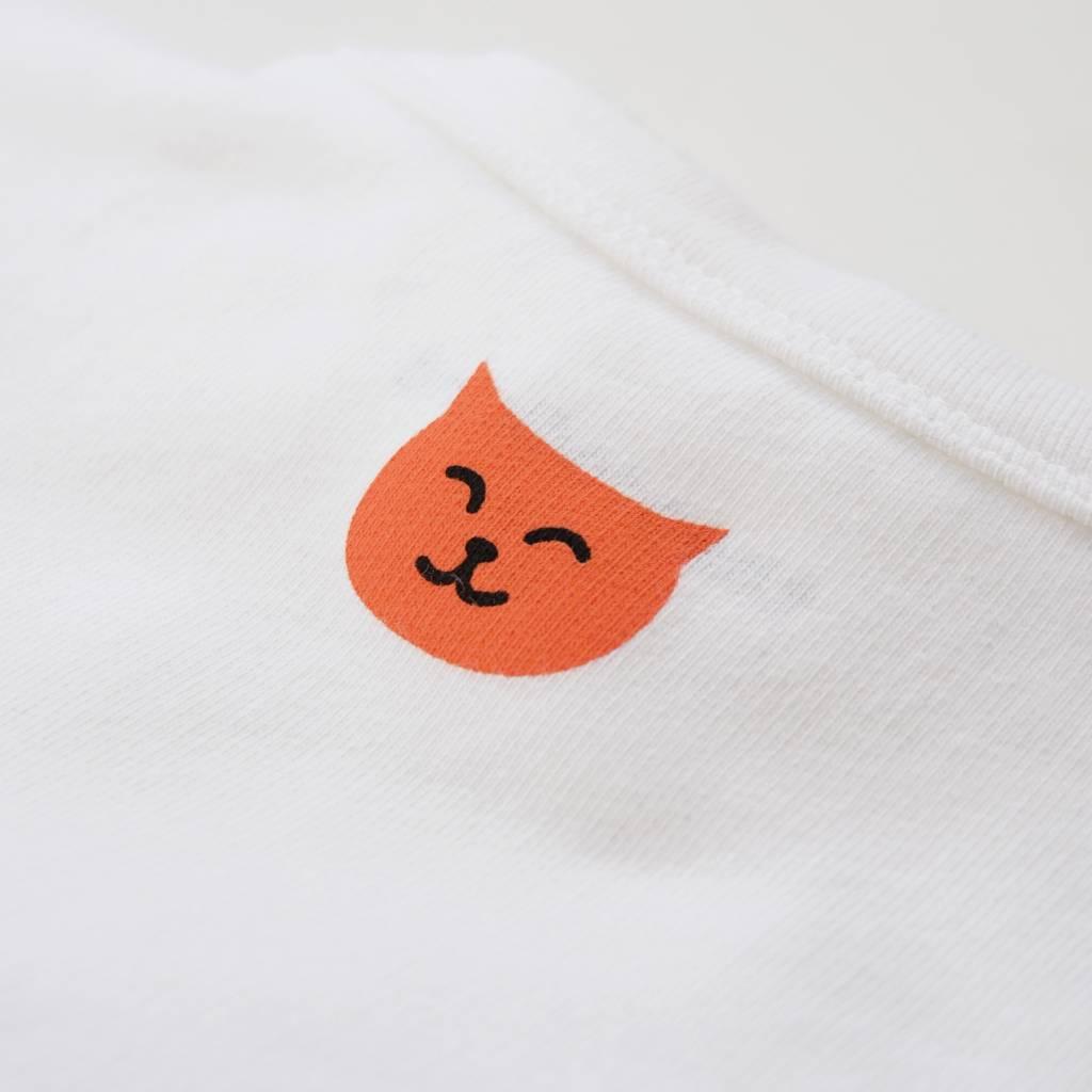 Bedrucktes Shirt aus Sweat