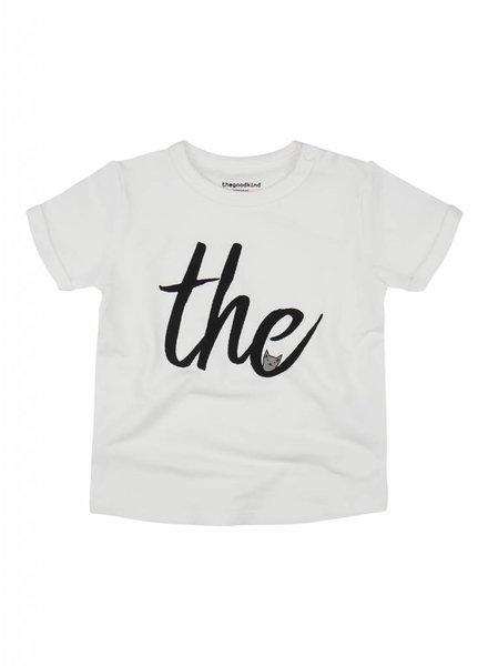 T-Shirt aus Sweat mit Aufschrift