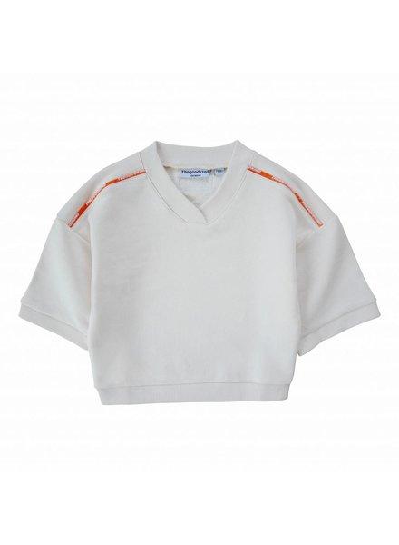 Sweatshirt mit weiten Ärmeln aus Bio–Baumwolle
