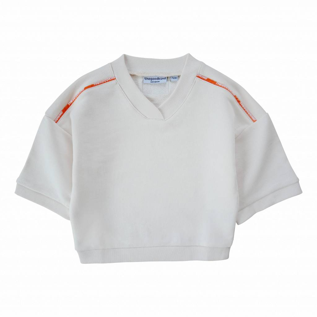 Sweatshirt with wide sleeves