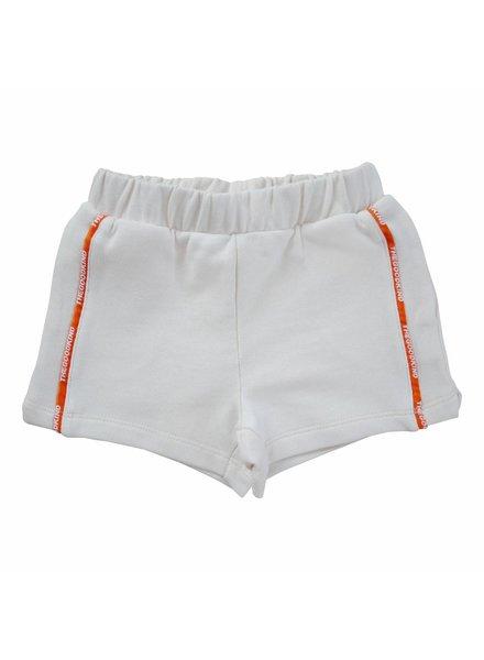 Sweat Shorts mit Logo-Streifen
