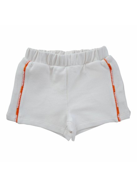Sweat Shorts with Logo Stripe