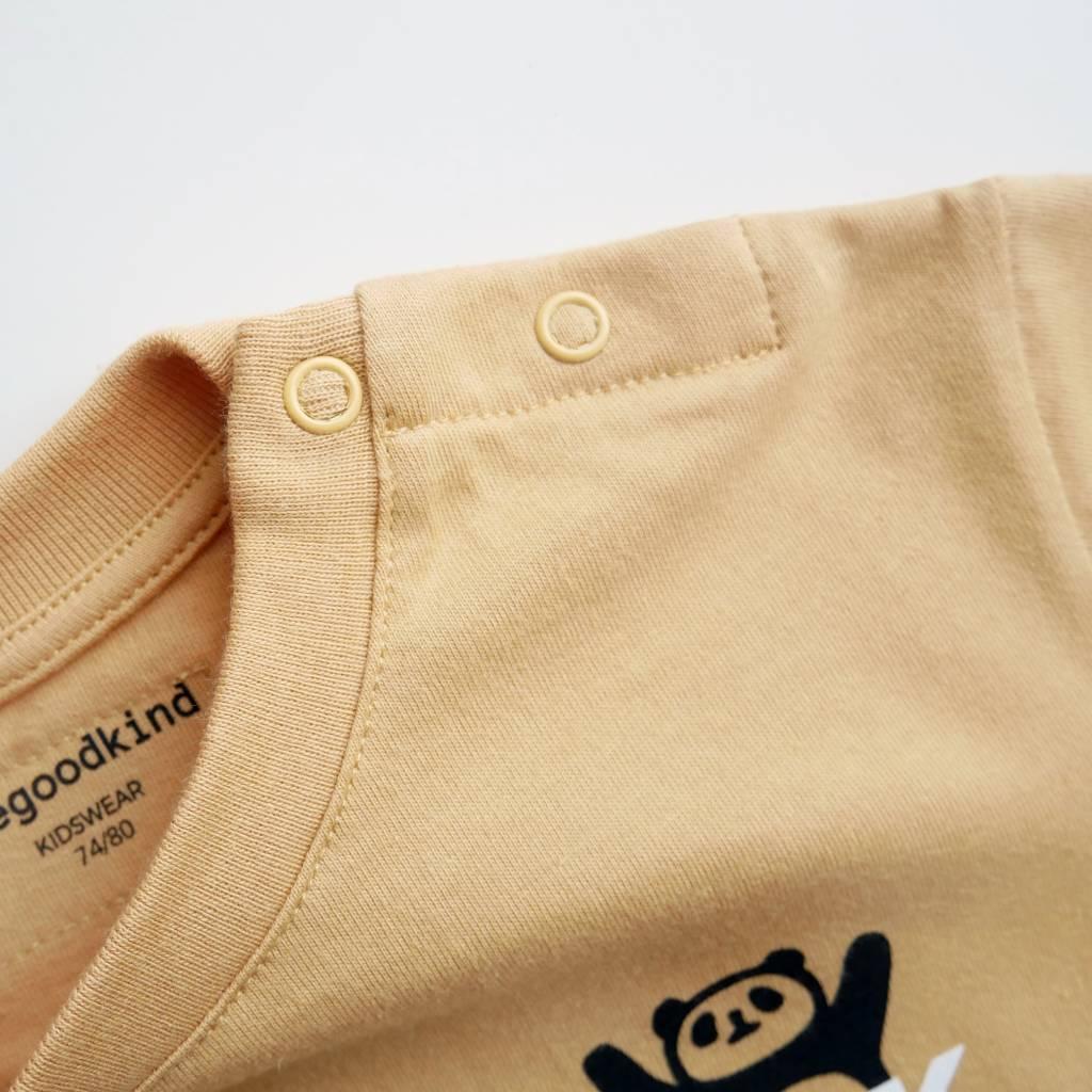 T-Shirt mit kleinem Druck