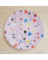 Terrazzo Plate Small Pink