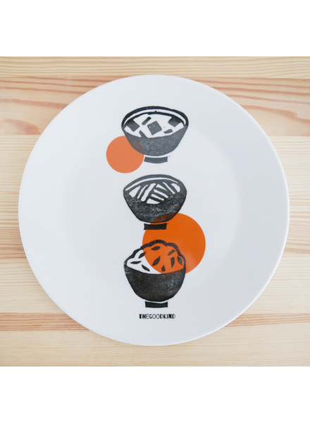 Small Plate with Ramen Print