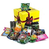 Huismerk 112 Kadodoos - Kant en klare grabbelton doos, Inhoud: 112 stuks uitdeel cadeaus