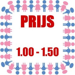 Prijs: € 1,00 - € 1,50