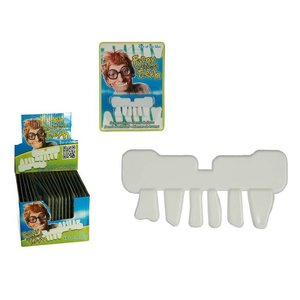 Out Of The Blue Grappige witte nep fun tanden (36 Stuks)