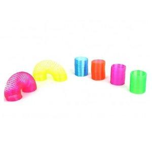 Huismerk Mini Neon Kleuren Spiralen Ø3.5 CM (48 stuks)