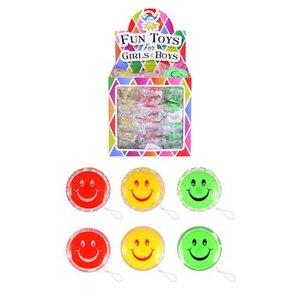 Huismerk Uitdeelcadeautjes - Smiley JOJO'S in Traktatiebox (36 stuks)