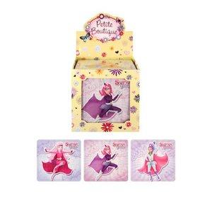 Huismerk Uitdeelcadeautjes - Puzzel: Super Girls, 13 x 12 Cm in Traktatiebox (108 stuks)