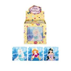 Huismerk Uitdeelcadeautjes - Puzzel: Ice Princess, 13 x 12 Cm in Traktatiebox (108 stuks)