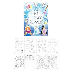 Huismerk Uitdeelcadeautjes - Puzzelboeken - Model: Ice Princes (48 stuks)