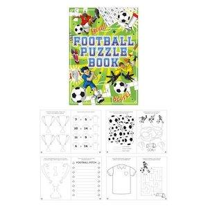 Huismerk Uitdeelcadeautjes - Puzzelboeken - Model: Voetbal (48 stuks)