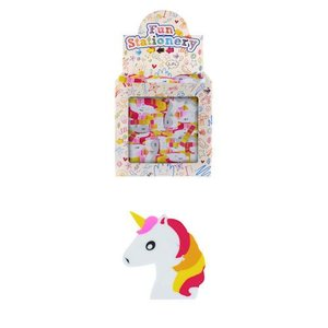 Huismerk Uitdeelcadeautjes - Gummen - Model: Unicorn in Traktatiebox (160 stuks)