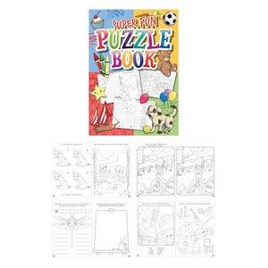 Huismerk Uitdeelcadeautjes - Puzzelboeken - Model: Grabbelton (48 stuks)