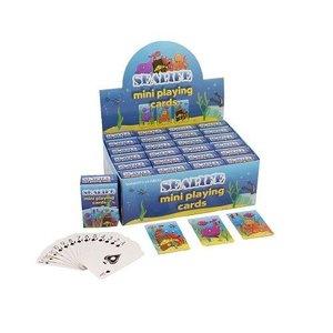 Huismerk Uitdeelcadeautjes - Mini Speelkaarten - Model: Sea Life in Display (24 stuks)