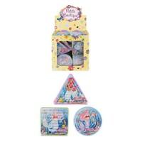 Huismerk Uitdeelcadeautjes - Geduld Spelletjes Model: Zeemeerminnen in Traktatiebox (96 stuks)