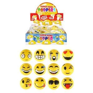 Huismerk Uitdeelcadeautjes - Smiley Ploppers in Display (48 stuks)